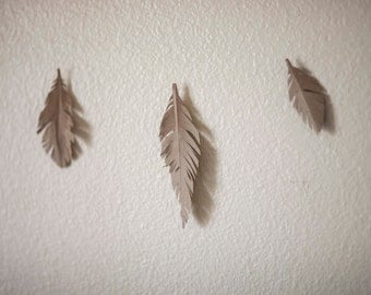 paper feather garland any color!