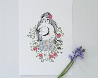 Print- Enjoy the little things-