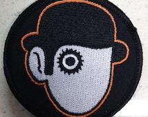 A Clock Work Orange patch Malcom McDowell