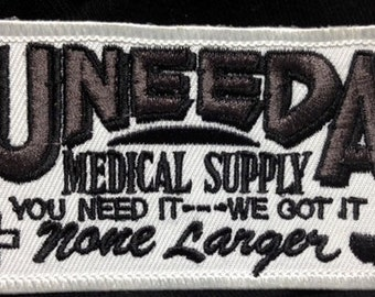 Uneeda Medical Supply patch Return Of The Living Dead zombie movie