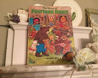 1969 First Edition Children's Book - The Story of Fourteen Bears by  Evelyn Scott