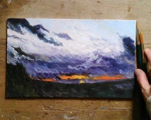 Custom Landscape Painting from Photo personalized wedding gift Christmas Painting
