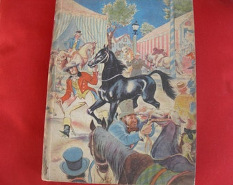 Vintage Black Beauty By Illustrated Junior Library 1945