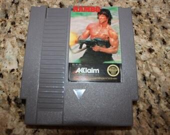 Nintendo Entertainment System Rambo
