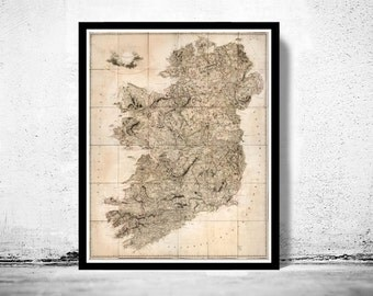 Old Map of Ireland 1811