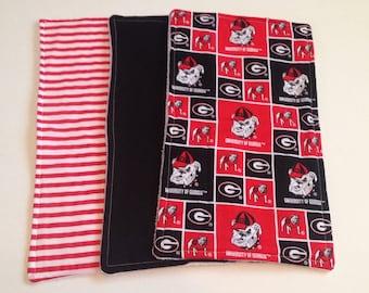 UGA Burp Cloth Set