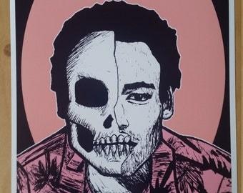 Childish Gambino Art Prints by zombieCraig