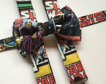 Adults/Kids Star Wars Suspenders/ Bow Tie Set!
