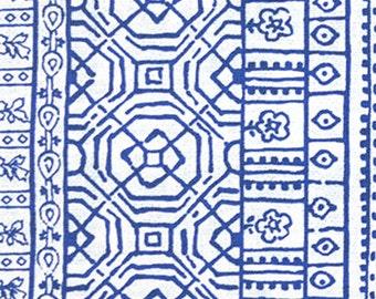 Premier Prints - Devada in Cobalt Blue - 1/2 Yard