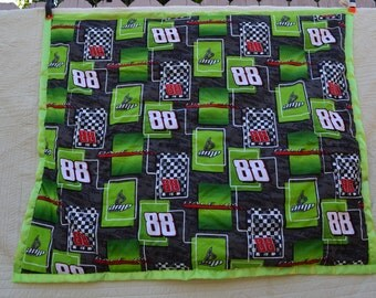 homemade baby blanket #88 dale jr 40 by 35 1/2