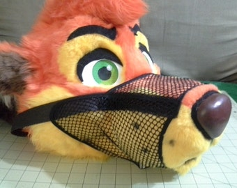 Fursuit Prop Pattern: Dog Muzzle + Tutorial