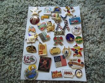 A Nice Lot of vintage Lapel Pins---Lot 3