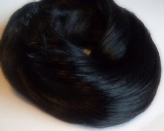 PREORDER Large 2oz Caviar Nylon Doll Hair for OOAK Custom Monster High My Little Pony  Black