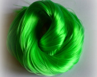 PREORDER Large 2oz Grasshopper Nylon Doll Hair for OOAK Custom Monster High My Little Pony Blythe