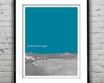Scarborough North Yorkshire England UK Poster Art Print