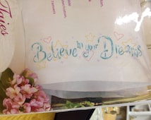 Dimensions - Pillowcases - Believe in your Dreams - Stamped Embroidery Kit
