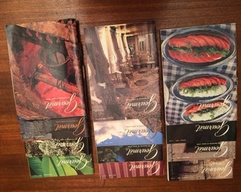 Reserved .. Gourmet magazines 1981-1985