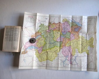 1956 les guides bleus Suisse, Hachette