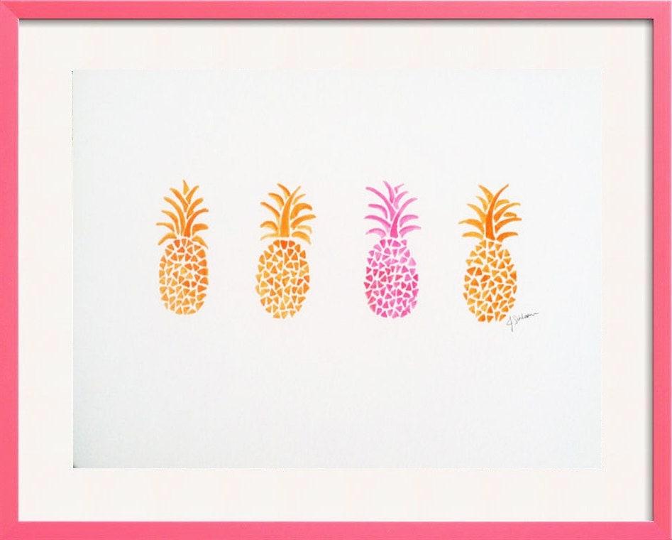 pineapple painting. 🔎zoom Pineapple Painting S