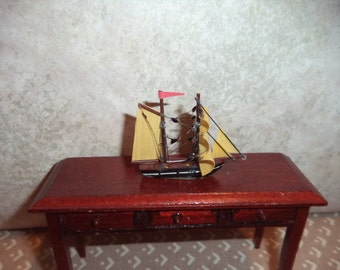 1:12 scale Dollhouse miniature ship