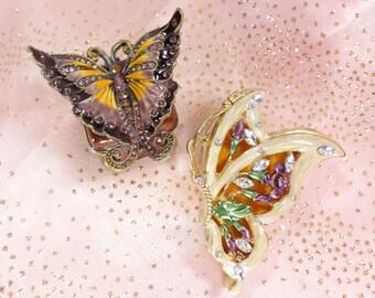 Butterfly Trinket Box