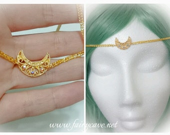 Mini Sailor Moon  inspired circlet