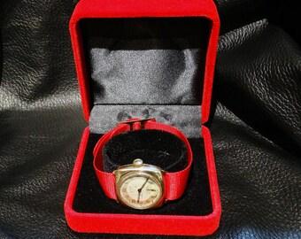 RARE Tissot Watch 14K Vintage 1943 Sollid Gold Men's Nonmagnetic Watch