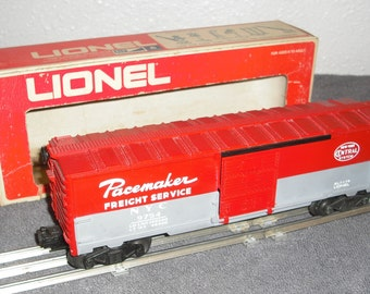 Lionel 9754 NYC Pacemaker box car.