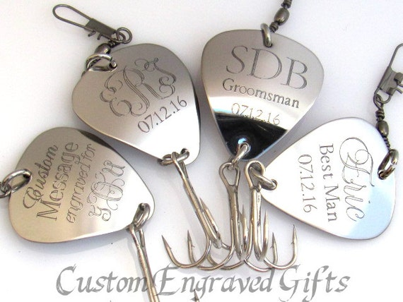 Fishing lure customized fishing lure by engravedgifts1 for Engraved fishing lures