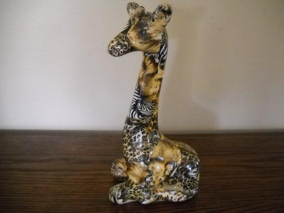 giraffe figurine home decor