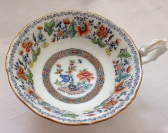 Late Victorian antique porcelain cup beautifully designed