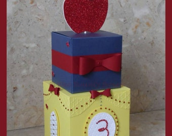 Snow White  Inspired Castle Centrepieces