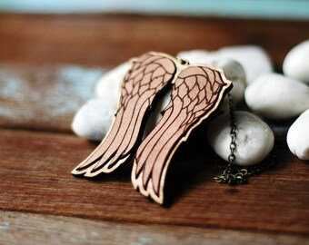 The Dixon's Angel wings Necklace - The walking Dead inspired Necklace