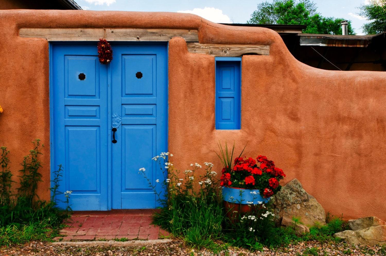 Rancho de taos doors new mexico southwest adobe