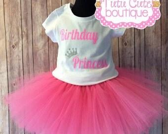 Birthday Princess tutu outfit.