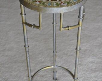 Vintage Broken China Mosaic Table