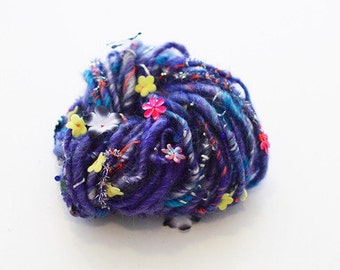 Knit Collage - Gypsy Garden Cosmic Blue
