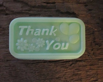 25 Shea Butter Thank You Soap Favors Wedding, Bridal Shower, Baby Shower