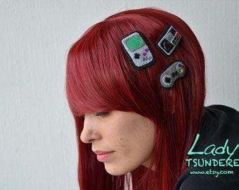Nintendo Controls/Gameboy Hair clip