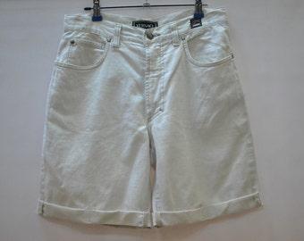 Vintage VERSACE JEANS COUTURE lino short pants....