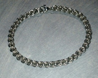 Stainless Steel Petite Jens Pind Chainmaille Bracelet
