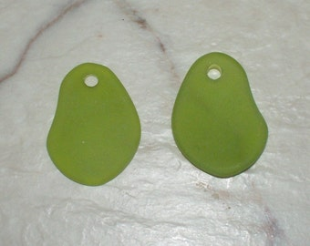 "Recycled Olive ""Sea Glass""  Potatoe Chips"