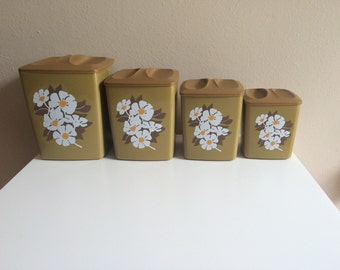 Kitchen Canister Set (4)