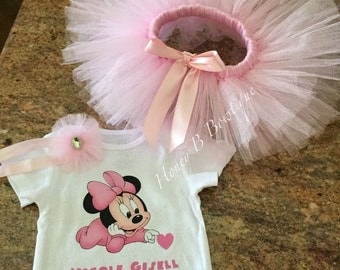 Baby Minnie Mouse Tutu Set, Coming Home Minnie Outfit, Minnie Mouse Hospital Outfit, Minnie Mouse Tutu