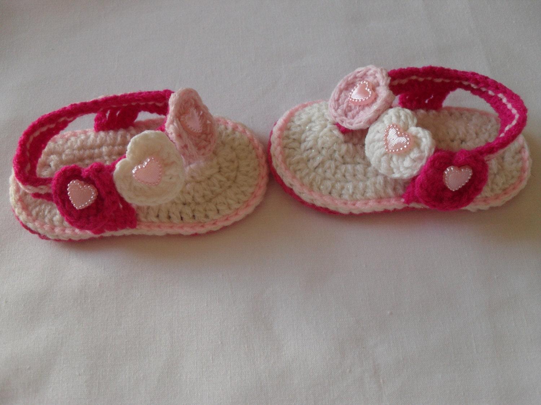 Sale Item Crochet Baby Girl Sandals Baby Sandals Baby Girl
