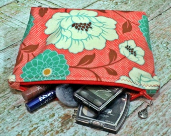 Makeup Pouch - Make up Bag - Cosmetic Case - Make up Pouch - Make up Case - Travel Bag - Cosmetic Bag - Zipper Pouch - Toiletry Bag