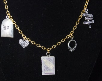 Wuthering Heights Book Necklace - Great Gift for Book Lovers!