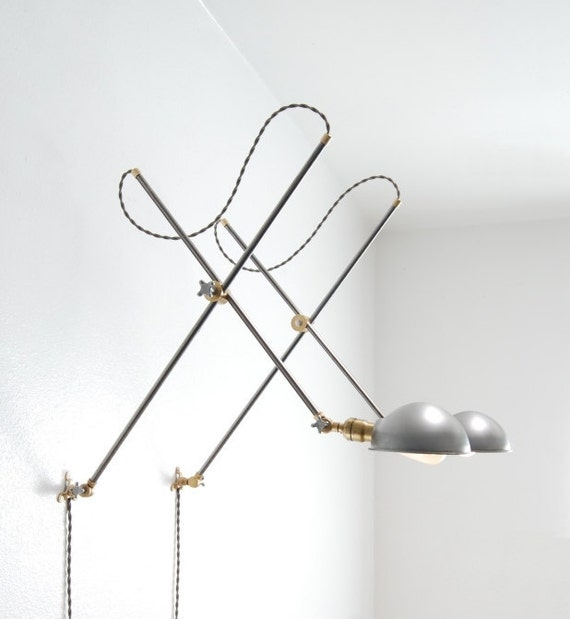 Wall Mounted Extension Lamp : Vintage Style Adjustable Wall Mount Extension Boom Light Lamp