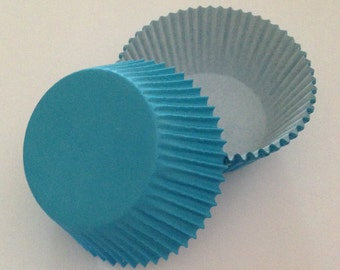 Turquoise / Blue Cupcake Liners