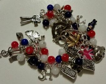 deluxe sherlock holmes charm bracelet